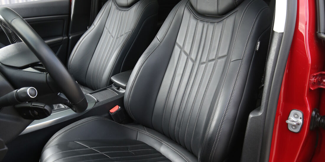 Peugeot 308 BlueHDi 150, Fahrersitz