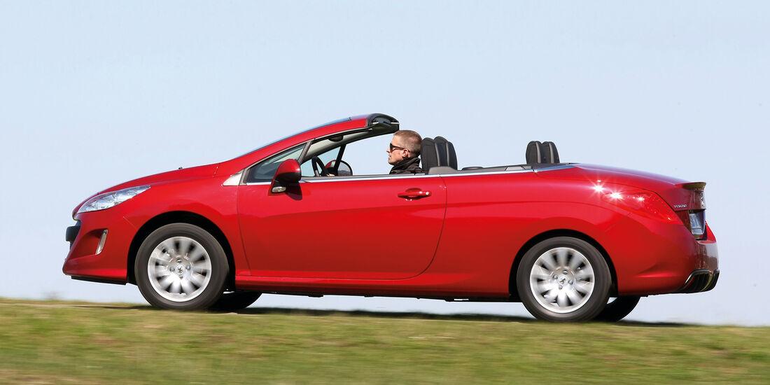 Peugeot 308 CC, Seitenansicht