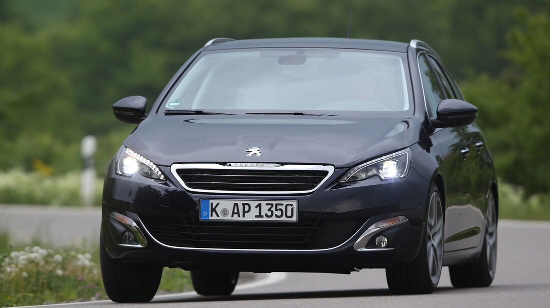 Peugeot 308 SW 130 e-THP, Frontansicht