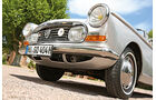 Peugeot 404 C Super Luxe, Frontscheinwerfer, Rad, Felge