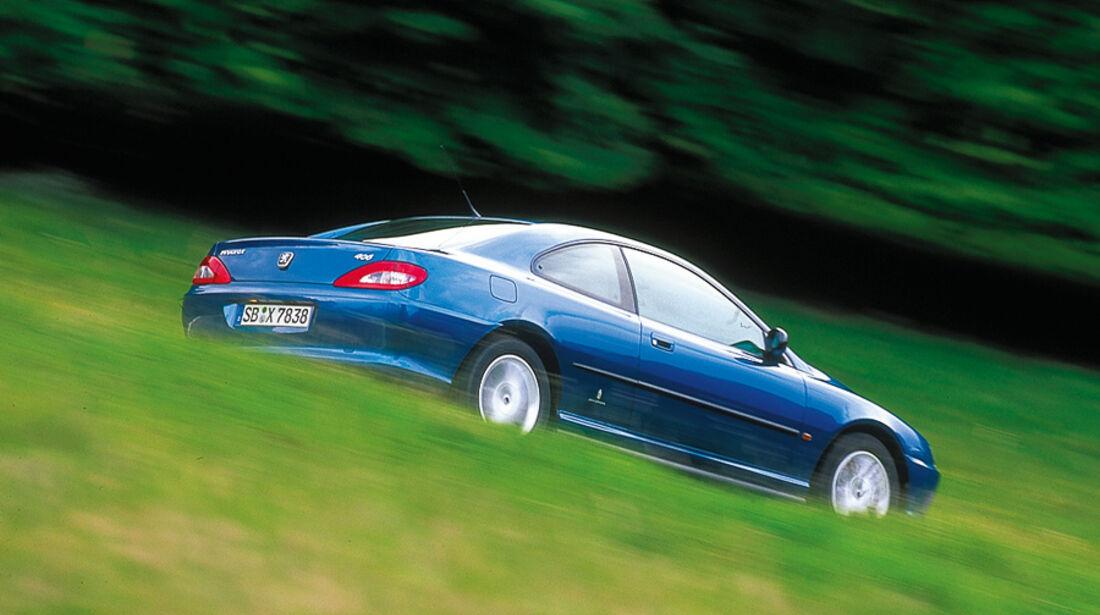 Peugeot 406 Coupé, Baujahr 1997-2001
