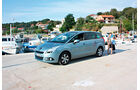 Peugeot 5008 155 THP, Seitenansicht, Hafen