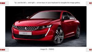 Peugeot 508 2018 Leak