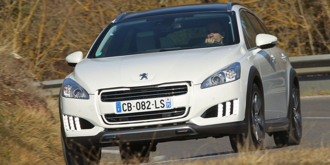 Peugeot 508 RXH, Frontansicht