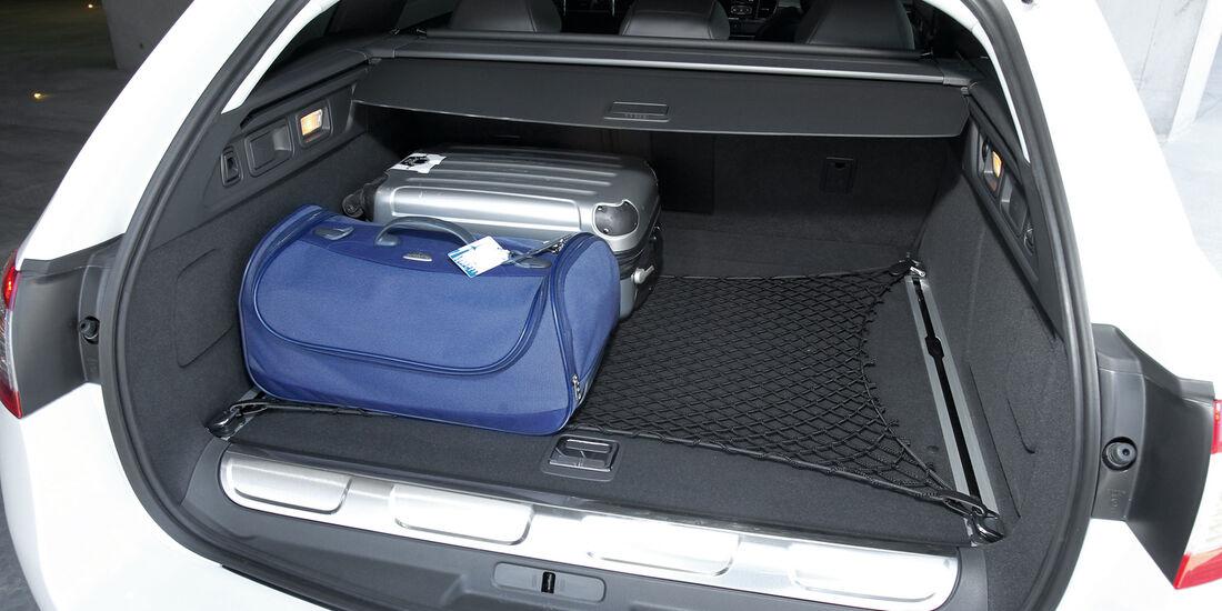 Peugeot 508 RXH, Kofferraum