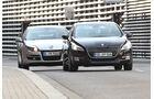 Peugeot 508 THP 155 und Renault Laguna 2.0 16 V 140 im Vergleich