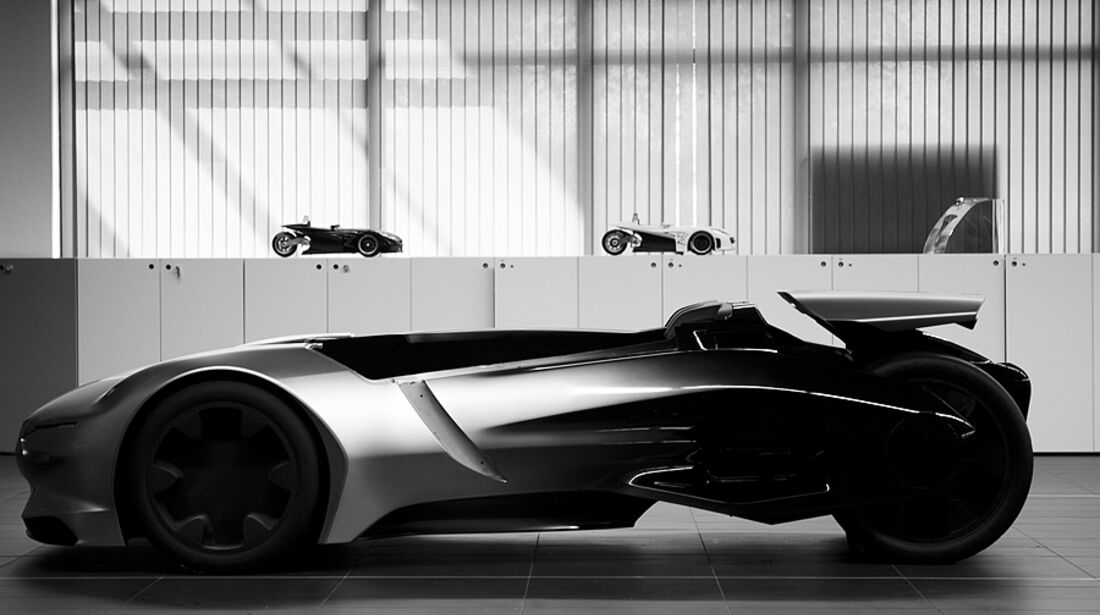 Peugeot EX1 Concept Car Design