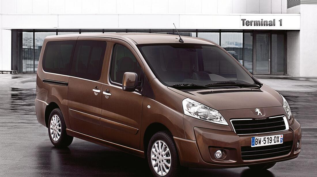 Peugeot Expert, Frontansicht