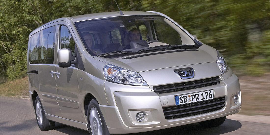 Peugeot Expert Tepee, Frontansicht