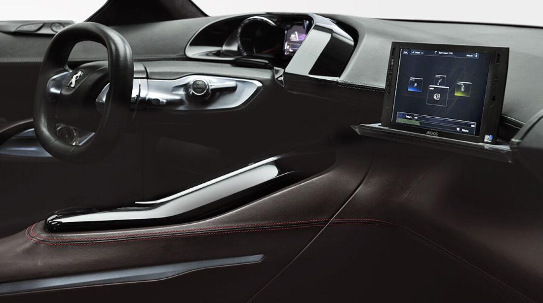 Peugeot HR 1, Innenraum