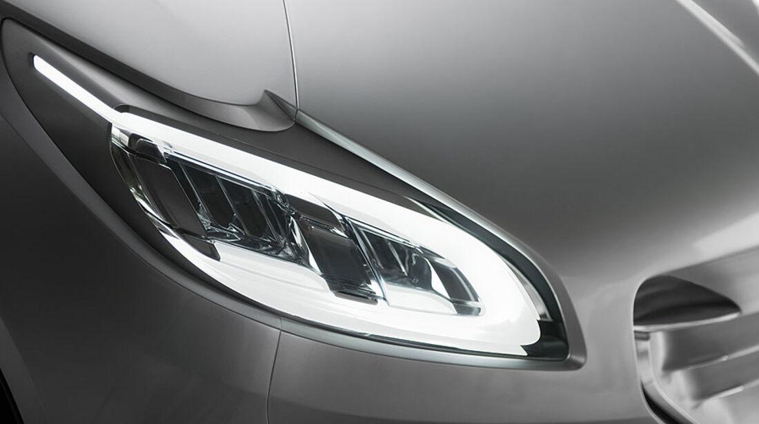 Peugeot HR 1, Vorderlicht