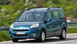 Peugeot Partner Tepee 98 VTi Active, Seitenansicht