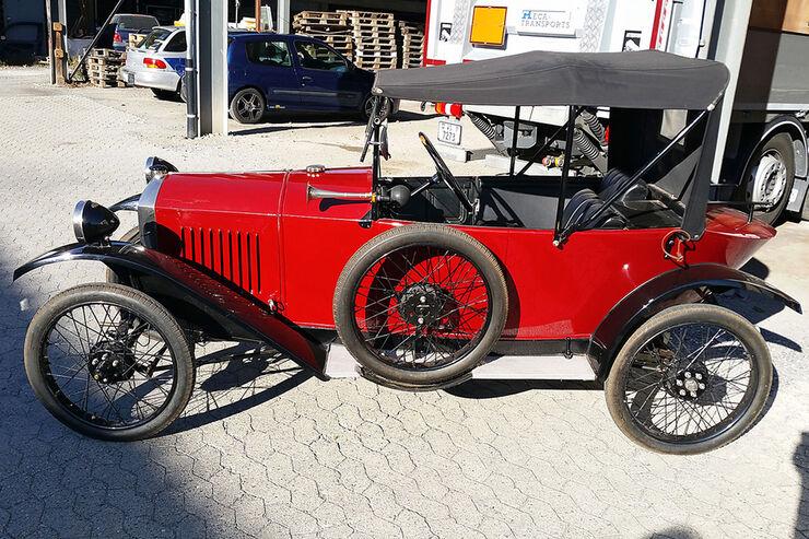 Peugeot Quadrilette 1922