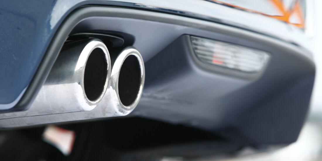 Peugeot RCZ 1.6 200 THP Auspuff