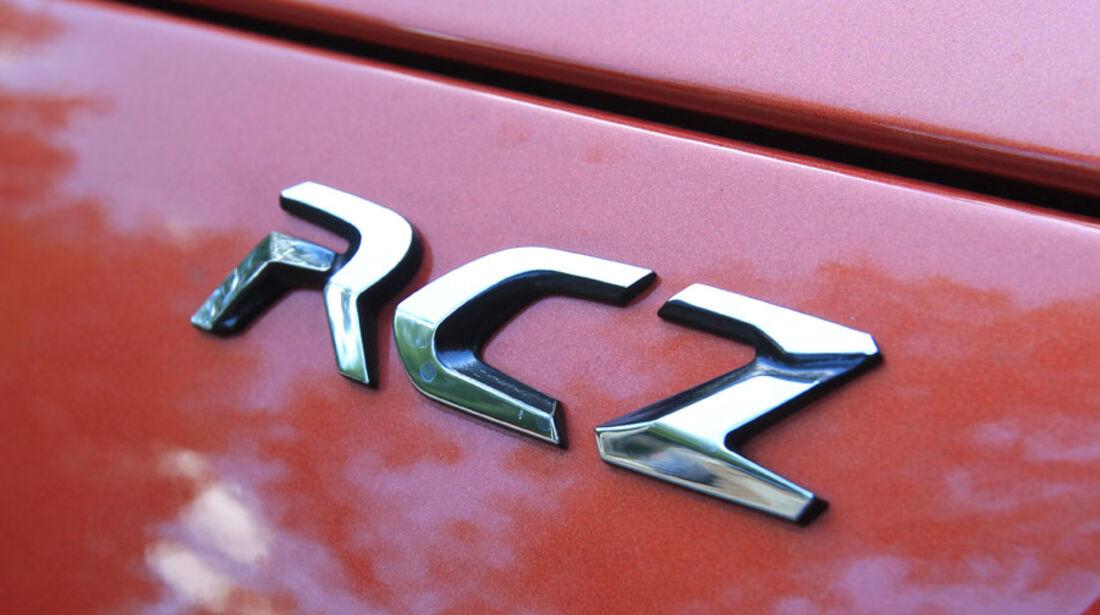Peugeot RCZ, Auspuff
