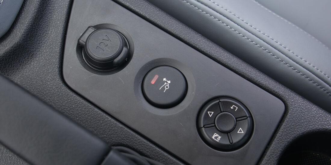Peugeot RCZ, Bedienelemente