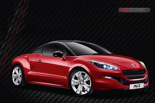 Peugeot RCZ Red Carbon Sondermodell