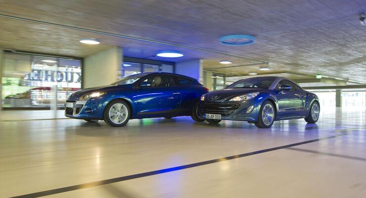 Peugeot RCZ vs. Renault Mégane Coupé