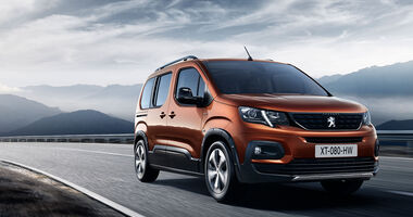 Peugeot Rifter 2018 Front