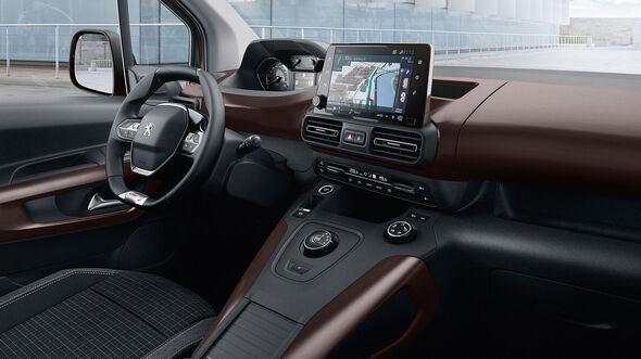 Peugeot Rifter 2018 Interieur iCockpit