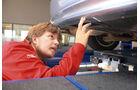 Peugeot, Werkstättentest, Auspuffanlage