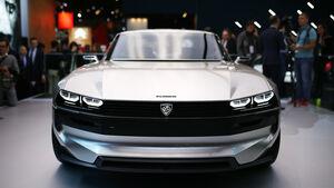 Peugeot e-Legend concept, Paris 2018