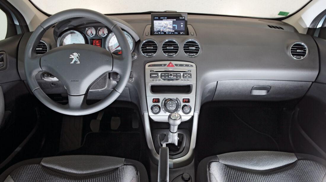 Peugot 308 Vti 120, Cockpit