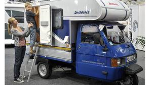 Piaggio Ape Wohnmobildreirad