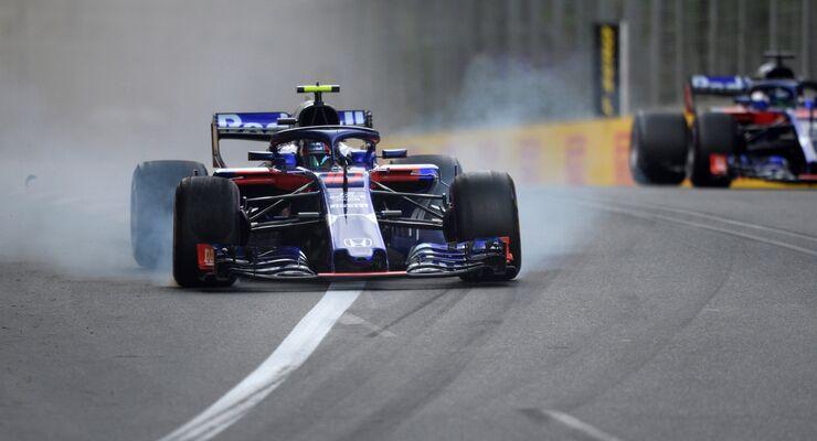 Pierre Gasly - Brendon Hartley - Toro Rosso - Formel 1 - GP Aserbaidschan - 28. April 2018
