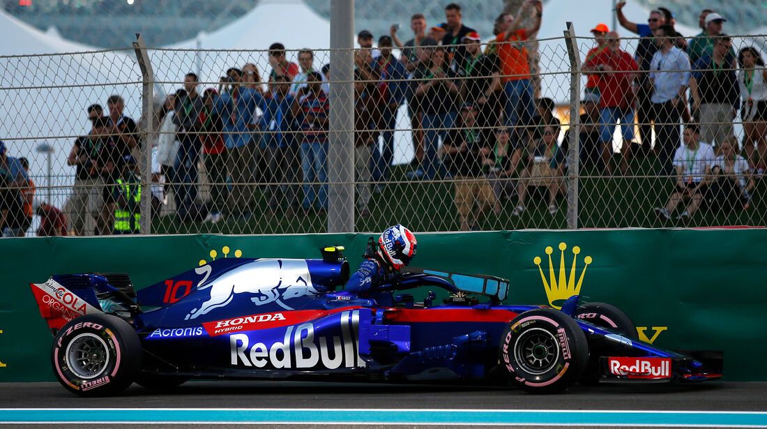 Pierre Gasly - Formel 1 - GP Abu Dhabi 2018