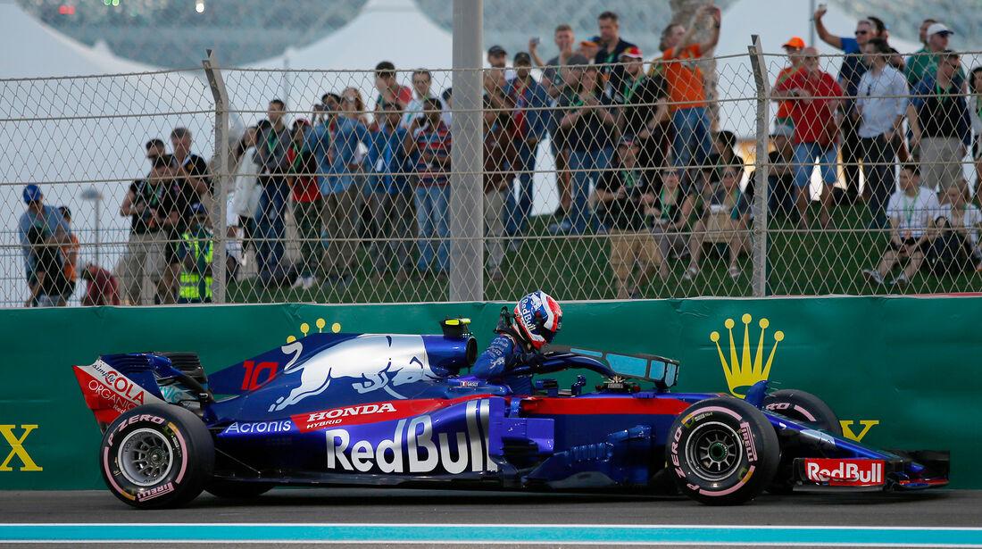 Pierre Gasly - Formel 1 - GP Abu Dhabi  -24. November 2018