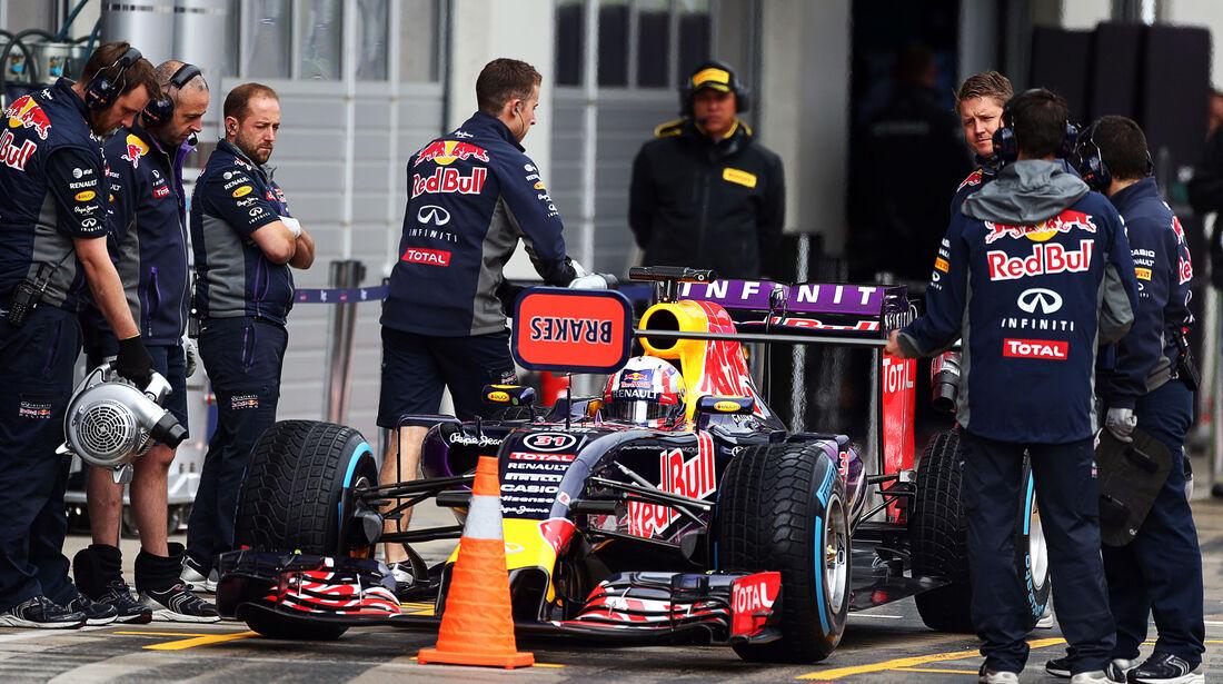 Pierre Gasly - Red Bull - Formel 1 - Test - Spielberg - 23. Juni 2015