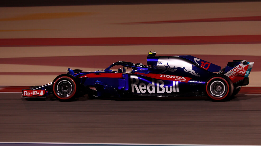 Pierre Gasly - Toro  Rosso - Formel 1 - GP Bahrain - 7. April 2018