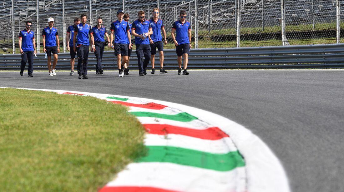 Pierre Gasly - Toro Rosso - Formel 1 - GP Italien - 30. August 2018