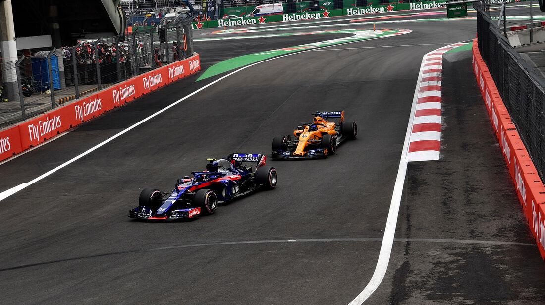 Pierre Gasly - Toro Rosso - Formel 1 - GP Mexiko - 27. Oktober 2018