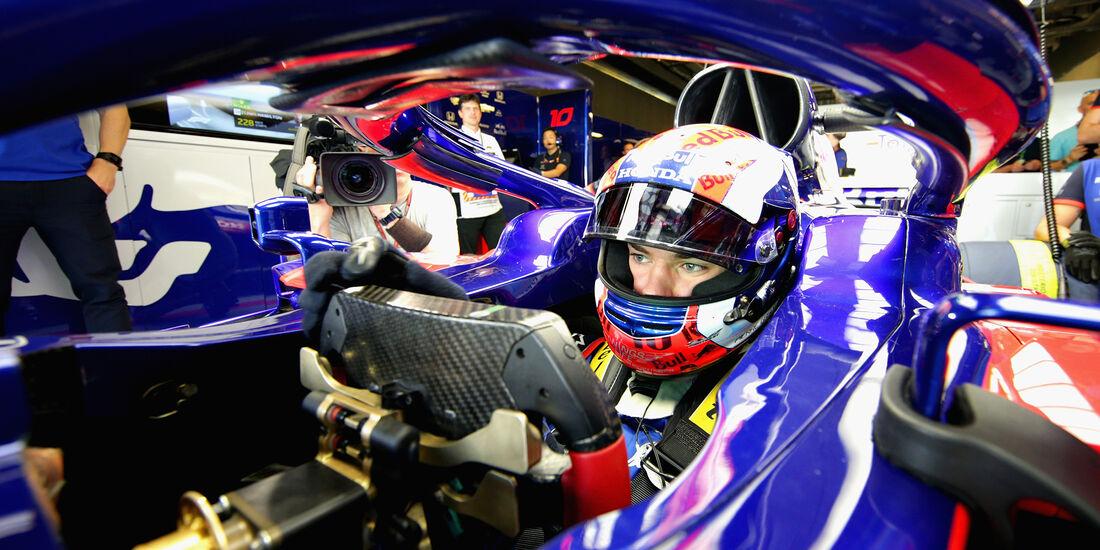 Pierre Gasly - Toro Rosso - GP Abu Dhabi - Formel 1 - 23. November 2018