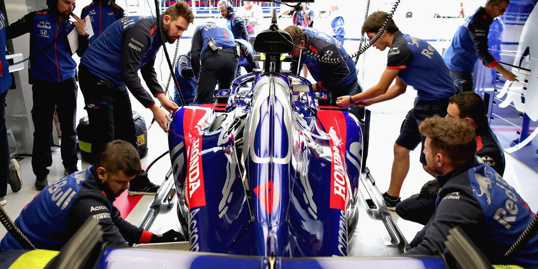 Pierre Gasly - Toro Rosso - GP Belgien - Spa-Francorchamps - 24. August 2018