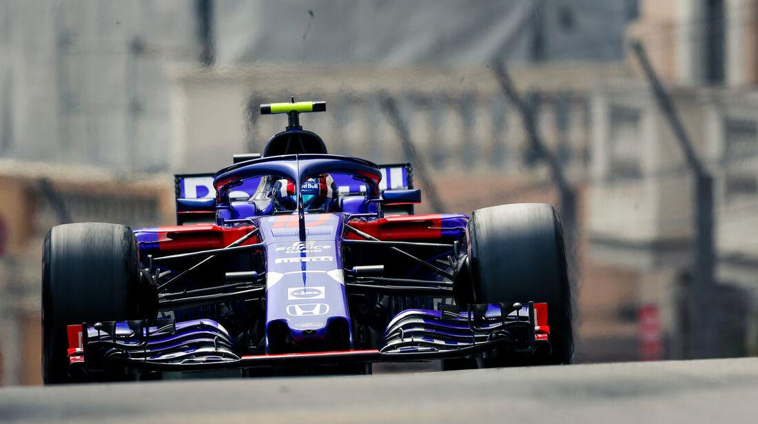 Pierre Gasly - Toro Rosso - GP Monaco 2018 - Rennen