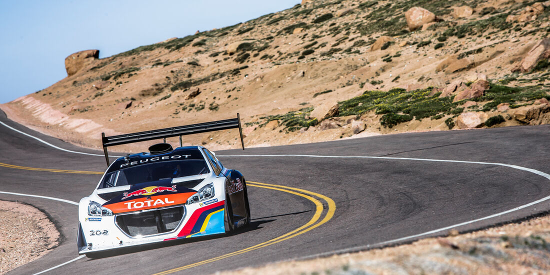 Pikes Peak, Peugeot 208, Frontansicht