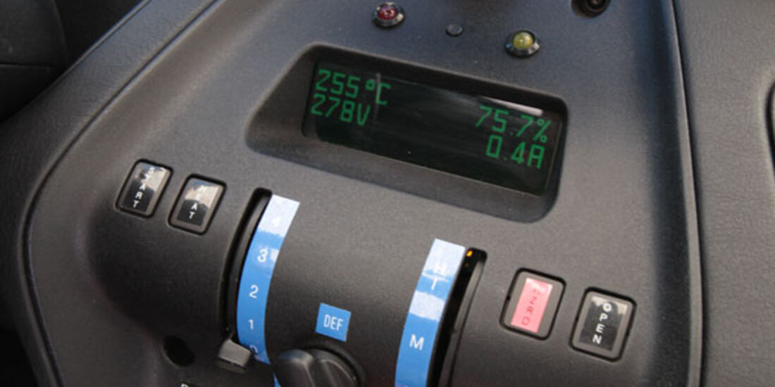 Pininfarina Nido EV, Mittelkonsole, Navigationssystem