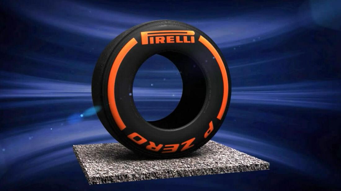 Pirelli F1 Hard 2014