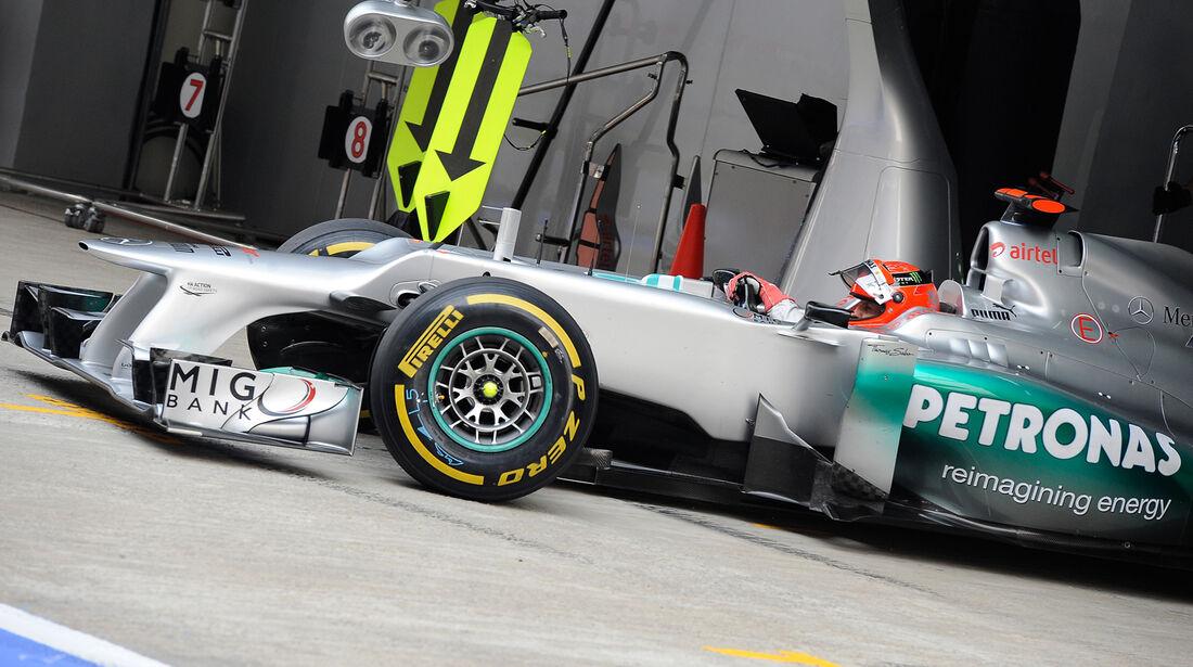 Pirelli F1 Reifen 2012