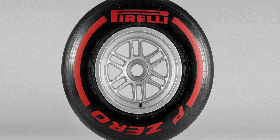 Pirelli F1 Reifen Supersoft