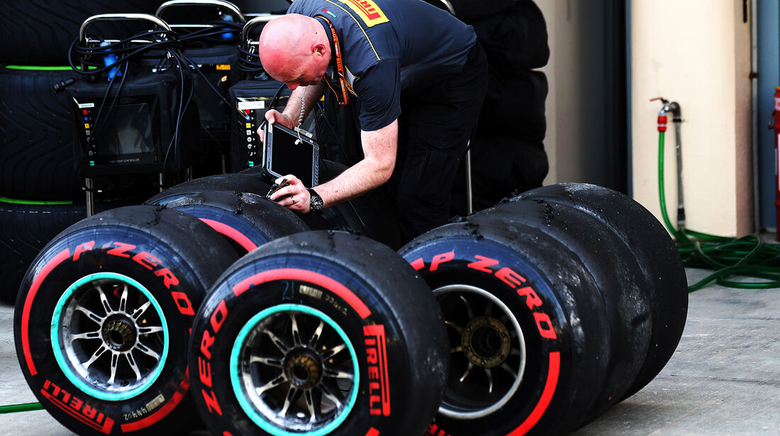 Pirelli - Formel 1 - GP Bahrain - 7. April 2018