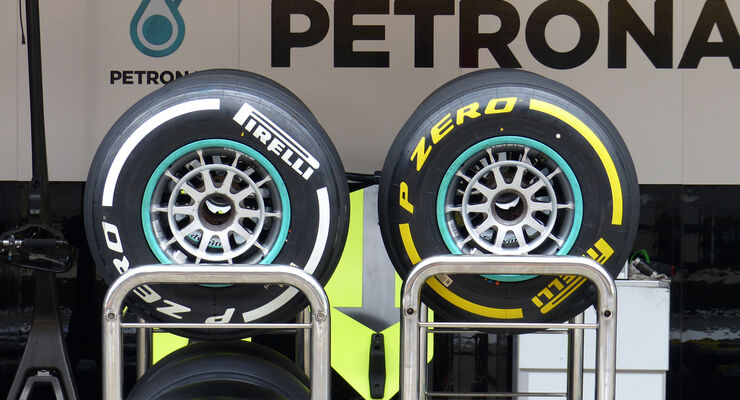 Pirelli - Formel 1 - GP China - Shanghai - 16. April 2014