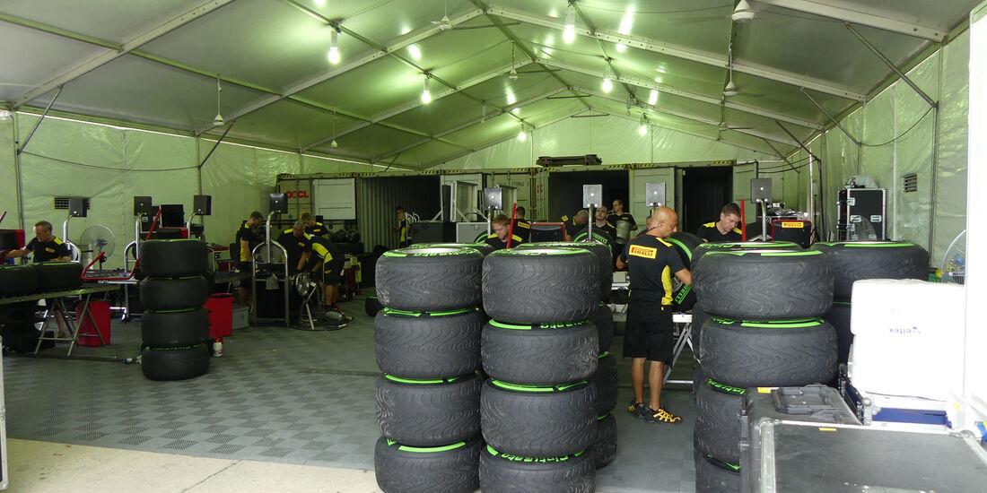 Pirelli - Formel 1 - GP Malaysia - Sepang - Donnerstag - 29.9.2016