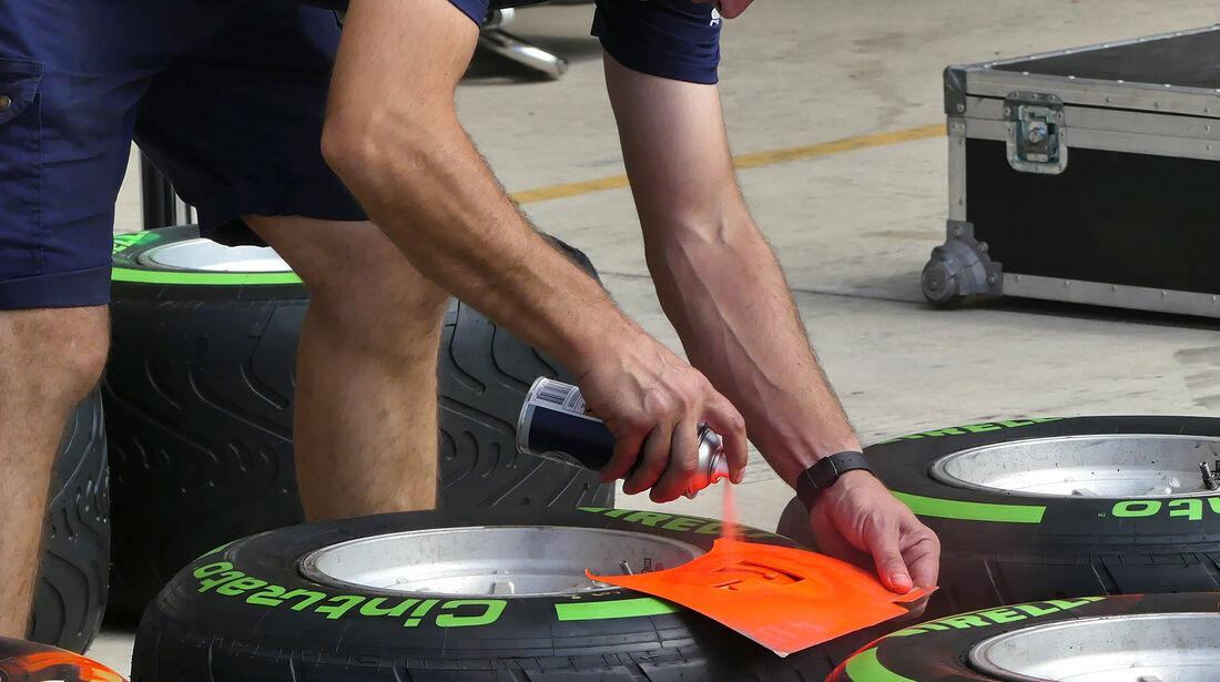Pirelli - Formel 1 - GP USA - Austin - 20. Oktober 2016