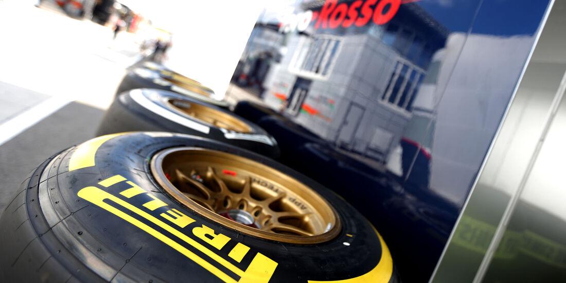 Pirelli - Formel 1 - GP Ungarn - 24. Juli 2014