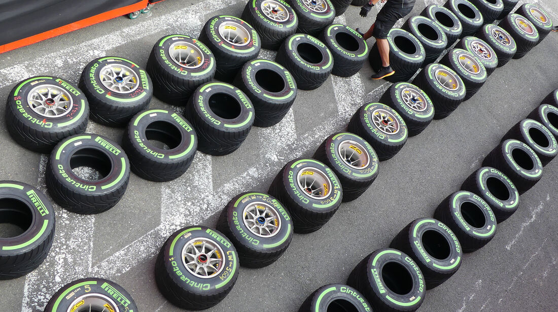 Pirelli - GP Belgien - Spa-Francorchamps - Formel 1 - 24. August 2017