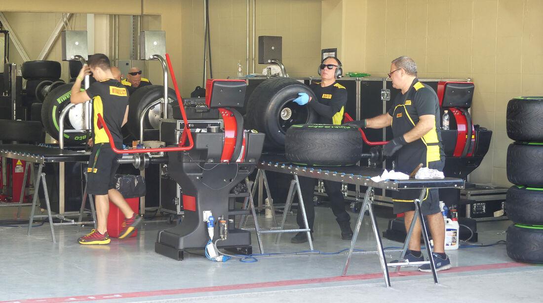 Pirelli - GP Brasilien - Sao Paulo - Interlagos - Donnerstag - 10.11.2016